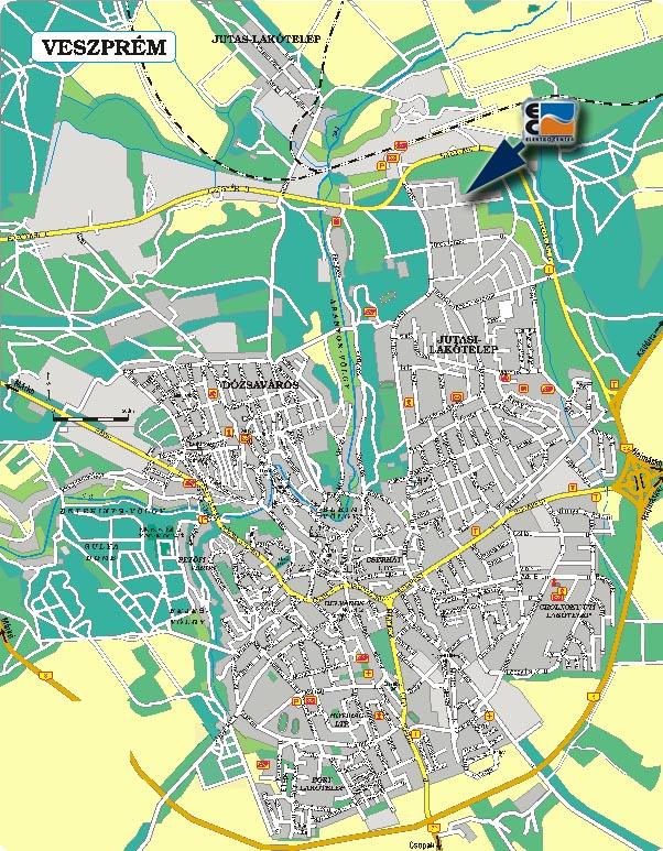 térkép veszprém Elektro Center   SAREL termékek forgalmazása térkép veszprém
